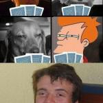 10 guy Poker  meme