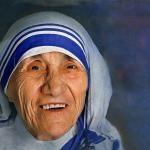 Mother Teresa smiling meme