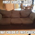 o68co navy blue couch meme generator imgflip