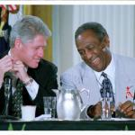 Bill Clinton and Bill Cosby meme