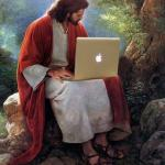 laptop jesus meme