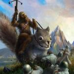 Wookie riding a squirrel killing nazis. Your argument is invalid meme