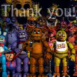 Fnaf Thank you meme