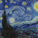 """Van Gogh - Starry Night - Google Art Project"" by Vincent van Go meme"