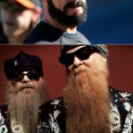 Brian Wilson Vs ZZ Top Meme | HEY GUYS I GOTTA BEARD TOO!!! WELL ISN'T THAT CUTE | image tagged in memes,brian wilson vs zz top | made w/ Imgflip meme maker