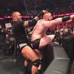 wwe randy ortan having fun with sheamus  meme