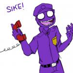purple guy meme