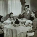 1950 Family Meal meme