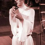 princess leia | I DARE YOU! TELL ME I CAN'T WEAR WHITE AFTER LABOR DAY... | image tagged in princess leia | made w/ Imgflip meme maker
