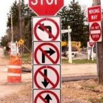 CrazyRoadSigns | MUST BE CALIFORNIA | image tagged in crazyroadsigns | made w/ Imgflip meme maker