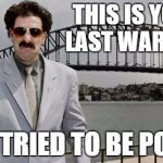 Borat Gypsy Meme The gallery for -->...