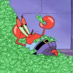 mr krabs money meme