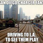 Los Angeles Chargers Meme Generator Imgflip