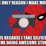 Spiderman Camera Meme Generator - Imgflip