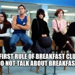 """Don't you forget about me..."" 