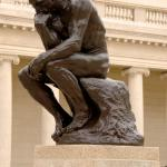 The Thinker meme
