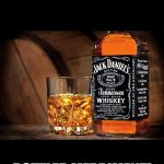 Jack daniels | BEHOLD! BOTTLED MERRIMENT! | image tagged in jack daniels | made w/ Imgflip meme maker