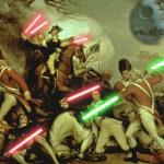 Lightsabers In History meme
