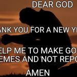 "And all reposters said....""AMEN"" 