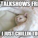 Cat Generate Meme Relaxed