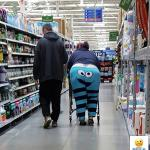 People of Walmart - Cookie Monster meme