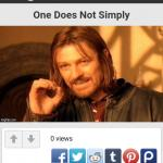 One Does Not Simply Take a Screenshot meme
