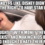 xrmii star wars padme losing the will to live over tfa meme generator
