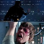 darth vader luke skywalker meme