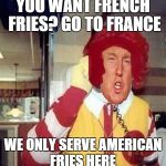 "Coming Soon to A Theater Near You""Ronald Trump starring as Donald McDonald"" 