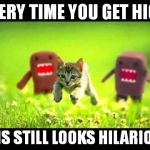 Suddenly I have a craving for ice cream bars... | EVERY TIME YOU GET HIGH THIS STILL LOOKS HILARIOUS | image tagged in memes,domokun,chasing,420,stoner | made w/ Imgflip meme maker