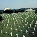 American graveyards in Normandy meme