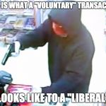 "When they tell you taxes are ""voluntary"" 