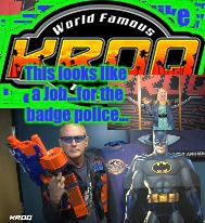 This looks like a Job...for the badge police... | made w/ Imgflip meme maker