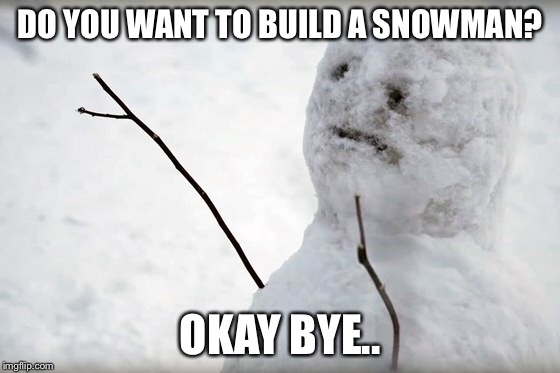 "After watching ""The Snowman"".. 