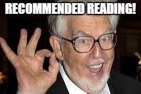 RECOMMENDED READING! | made w/ Imgflip meme maker