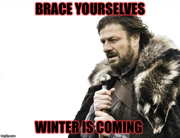 Brace Yourselves X is Coming Meme | BRACE YOURSELVES WINTER IS COMING | image tagged in memes,brace yourselves x is coming,meme,funny,funny meme,funny because it's true | made w/ Imgflip meme maker