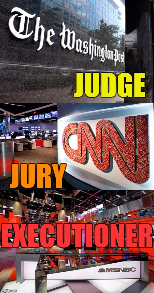 No matter what you are accused of, do you really want this for due process? | JUDGE JURY EXECUTIONER | image tagged in biased media,liberal hypocrisy,evil,liars,original memes,law | made w/ Imgflip meme maker