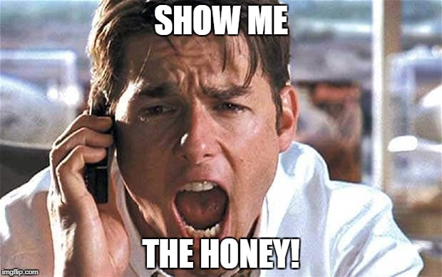 SHOW ME THE HONEY! | made w/ Imgflip meme maker
