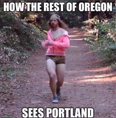 Nat Nat Nat  | HOW THE REST OF OREGON SEES PORTLAND | image tagged in memes,meme,funny meme,funny memes | made w/ Imgflip meme maker