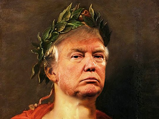 Image result for trump as julius caesar