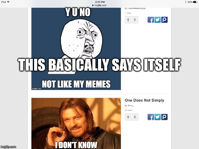 THIS BASICALLY SAYS ITSELF Y U NO | image tagged in says itself | made w/ Imgflip meme maker