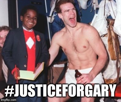 #justiceforgary | #JUSTICEFORGARY | image tagged in gary coleman,mark messier,abuse,new york rangers | made w/ Imgflip meme maker