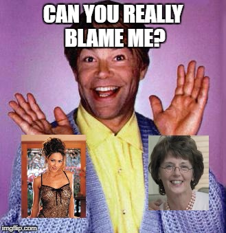 Al Franken | CAN YOU REALLY BLAME ME? | image tagged in al franken | made w/ Imgflip meme maker
