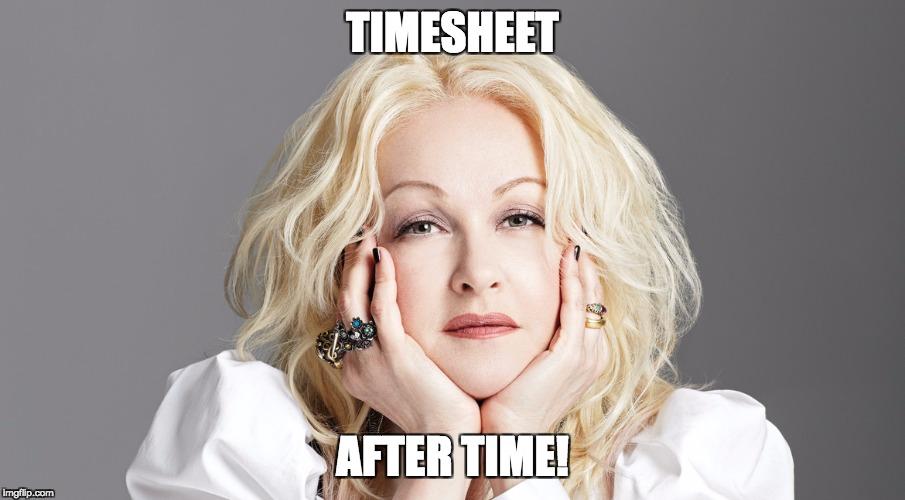 time sheet maker