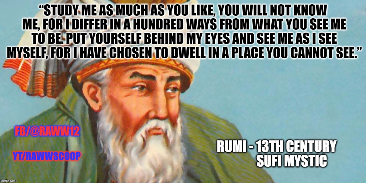 """STUDY ME AS MUCH AS YOU LIKE, YOU WILL NOT KNOW ME, FOR I DIFFER IN A HUNDRED WAYS FROM WHAT YOU SEE ME TO BE. PUT YOURSELF BEHIND MY EYES  