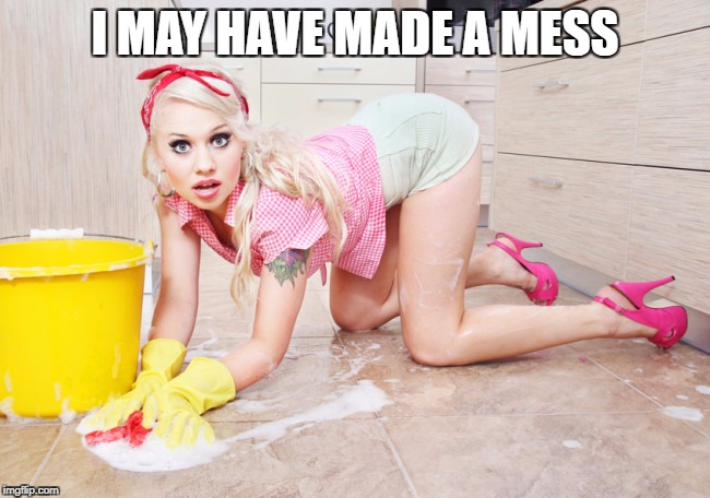 I MAY HAVE MADE A MESS | made w/ Imgflip meme maker