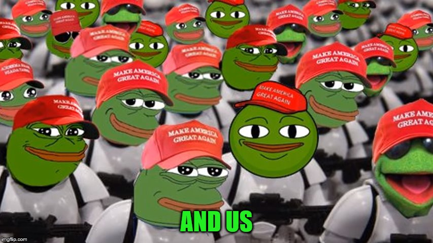 AND US | made w/ Imgflip meme maker