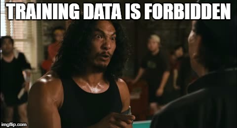 wilo | TRAINING DATA IS FORBIDDEN | image tagged in wilo | made w/ Imgflip meme maker