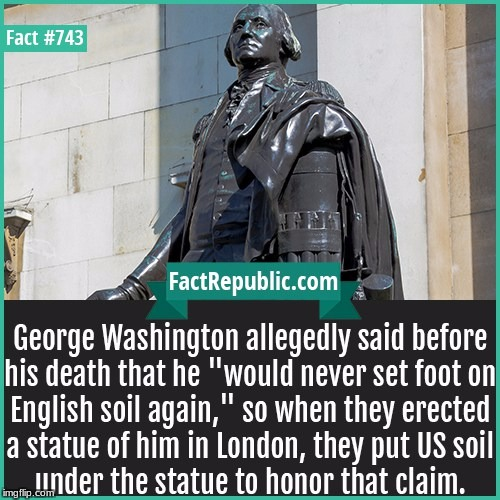 This is what true respect looks like | image tagged in george washington,respect,meme,interesting fact | made w/ Imgflip meme maker