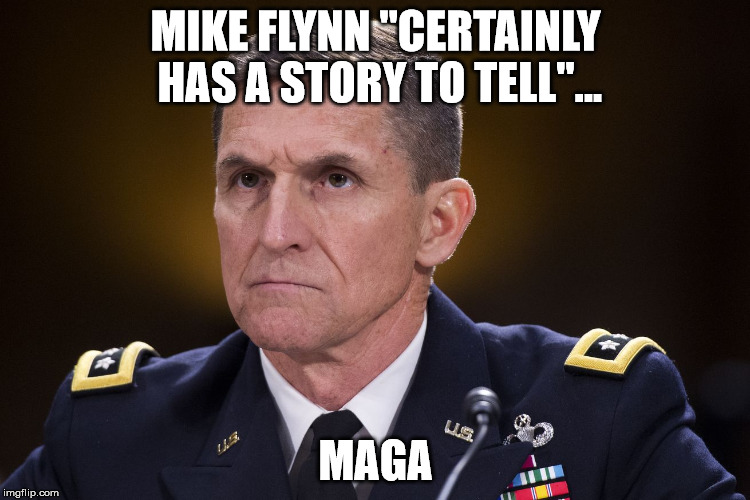 "MIKE FLYNN ""CERTAINLY HAS A STORY TO TELL""... MAGA 